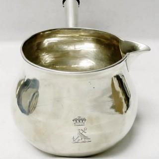 George II Silver Brandy Pan by George Wickes