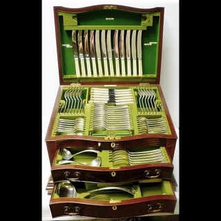 Silver Canteen of Cutlery in a Box