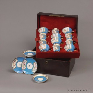 A Fine Sèvres Porcelain Coffee Set