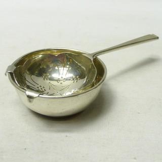 Vintage Silver Tea Strainer