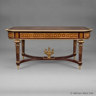 Louis XVI Style Marquetry Low / Coffee Table