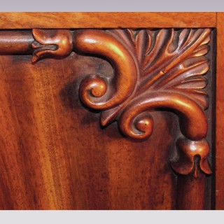 A Pair of William IV mahogany Side Cabinets
