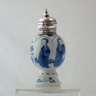 kangxi blue and white porcelain Vase