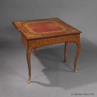 Russian Imperial Period  Games / Card Table