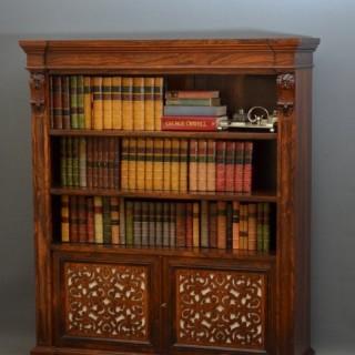 An Exceptional William IV / E Victorian Bookcase