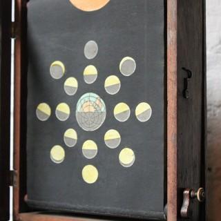 A Rare Regency Period Astronomical Elton's Miniature Transparent Orrery c.1817