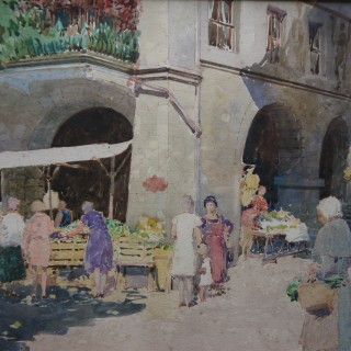Market Place , Brittany