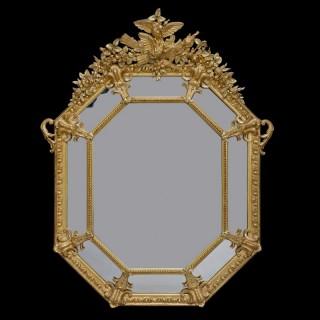 Louis XVI Style Marginal Mirror
