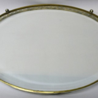 Antique Dutch Silver Tray