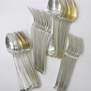 Antique Dutch Silver Cutlery
