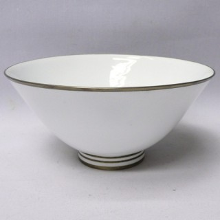Vintage Silver and Enamel Bowl by Gerald Benney