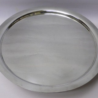 Antique Silver Plated Lazy Susan