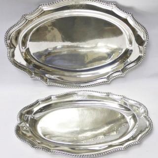 Georgian Oval Platters