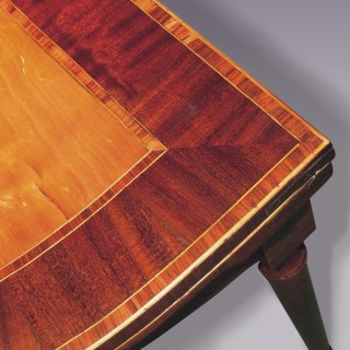 Antique late 18th century Satinwood Card Table