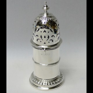 Antique Silver Lighthouse Sugar Caster