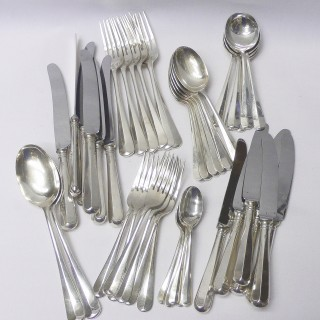 Vintage Silver Cutlery for 6