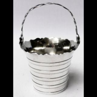 George III Silver Cream Pail