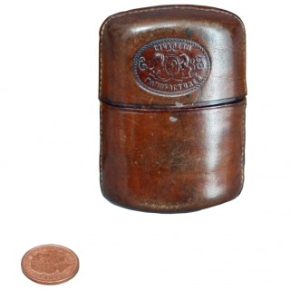 Small Leather Cigarette Case