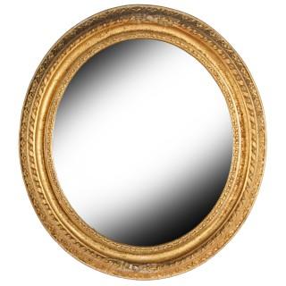 Pair of Gilt Wood Mirrors