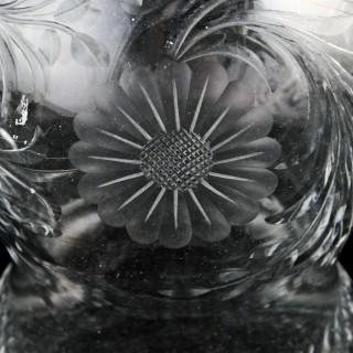 George V Silver Top Perfume Bottle