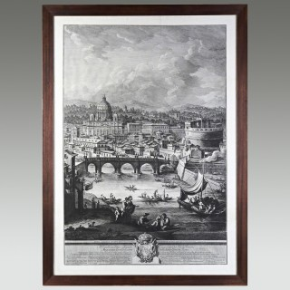 18th Century Engraving by Giuseppi Vasi