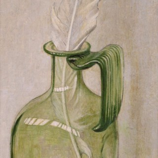 Maxwell Armfield RWS (1882-1972) - Bottle and Feather