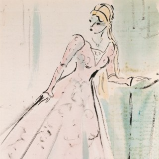 Elinor Bellingham-Smith (1906-1988) - The Pink Evening Dress