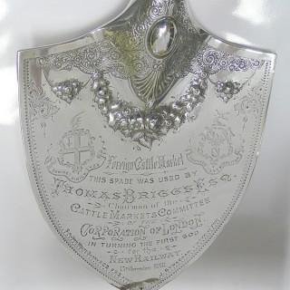 Victorian Presentation Shovel