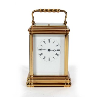 Gorge Striking Repeating Carriage Clock, c.1890s