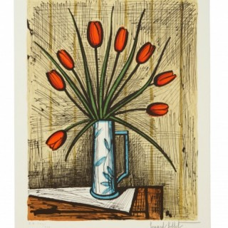 Bouquet de tulipes, 1985