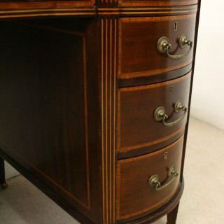 Sheraton Style Kidney Shaped Desk