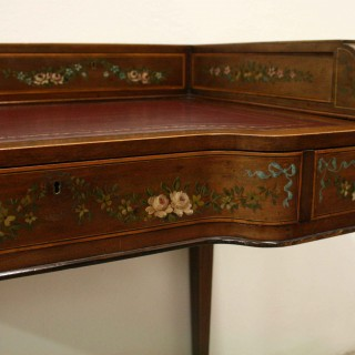 Sheraton Style Painted Ladies Desk