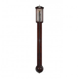 Antique Stick Barometer by Peter Dollond of London