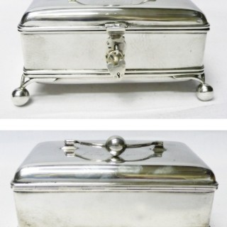 Antique Russian Silver Box