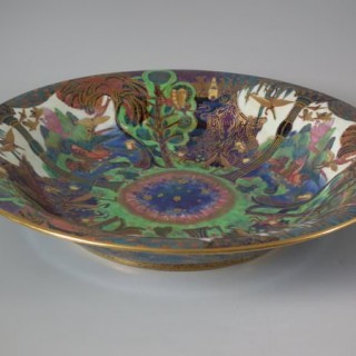 Wedgwood Fairyland Lustre Garden of Paradise Lily Tray