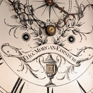 Georgian Longcase clock by Thomas Morgan of Edinburgh