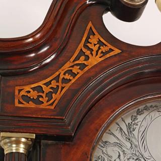 Georgian Longcase clock by Thomas Morgan of Edinburgh