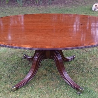 George III Period Mahogany Centre Table