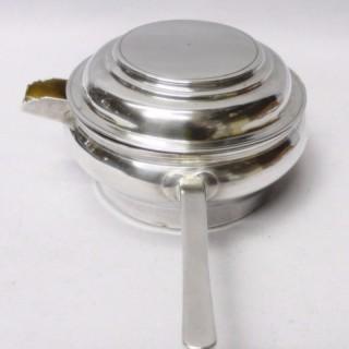 Antique Russian Silver Brandy Sauce Pan