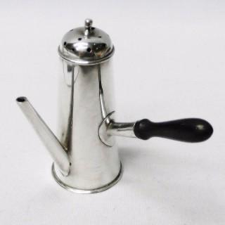 Antique Miniature Silver Coffee Pot Pepper