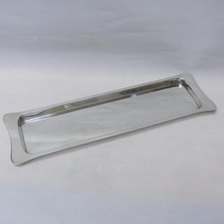 Vintage Silver Plated Drinks Tray