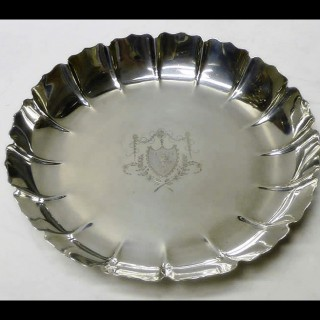 Pair of George III Silver Strawberry Dishes
