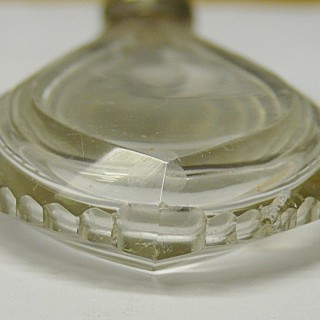 Antique French Silver Scent Bottle