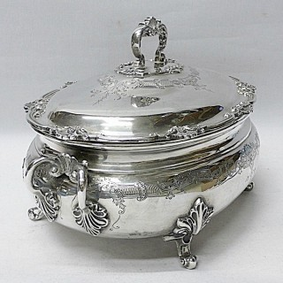Georgian Style Silver Soup Tureen