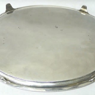 George III Salver by Mathew Boulton