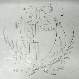 George III Salver by Mathew Boulton