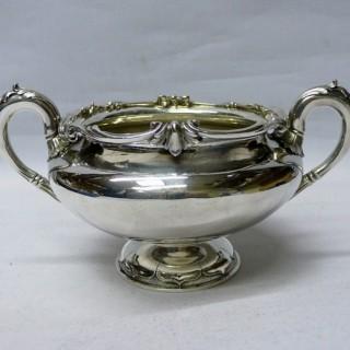 Antique Silver Sugar Bowl