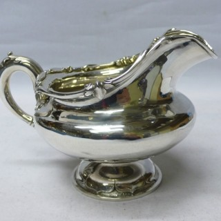 Antique Silver Milk Jug