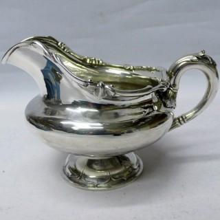 Antique Silver Milk Jug
