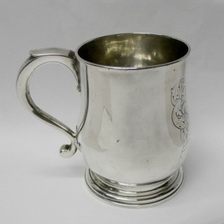 George II Silver Mug by Paul de Lamerie